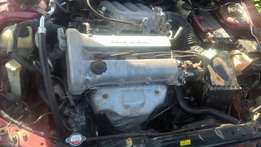Mazda 323f very clean has know engine problem ac in good condition