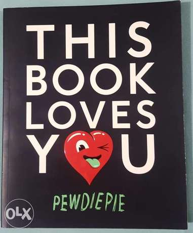 Pewdiepie: this book loves you