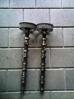 Nissan NP200 1.6 16V cam shafts for sale...