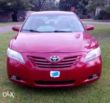Red 2008 Muscle Camry LE