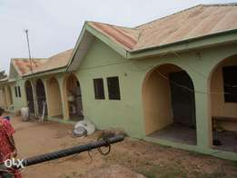 House Containing 4 room and parlour, A selfcon, car space & water