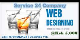 Website Development at Ksh 5,000