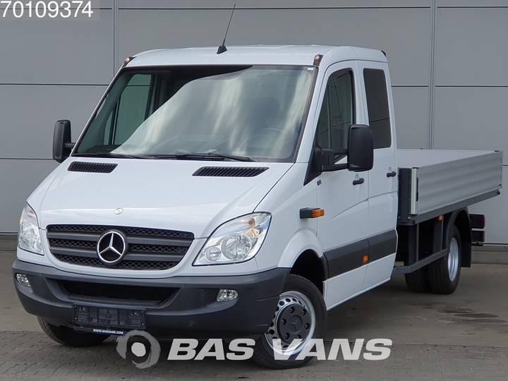 Mercedes-Benz Sprinter 516 CDI 160pk Open Laadbak DC Doka Airco Trekhaa... - 2012