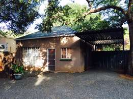 COTTAGE in PARFITT AVE for one person R3500/month