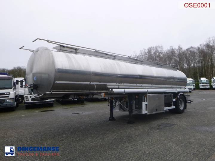 Magyar Oil tank inox 20.2 m3 / 7 comp + pump/counter - 2008