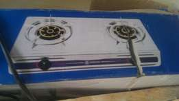 2 hob thermocool silver table gas