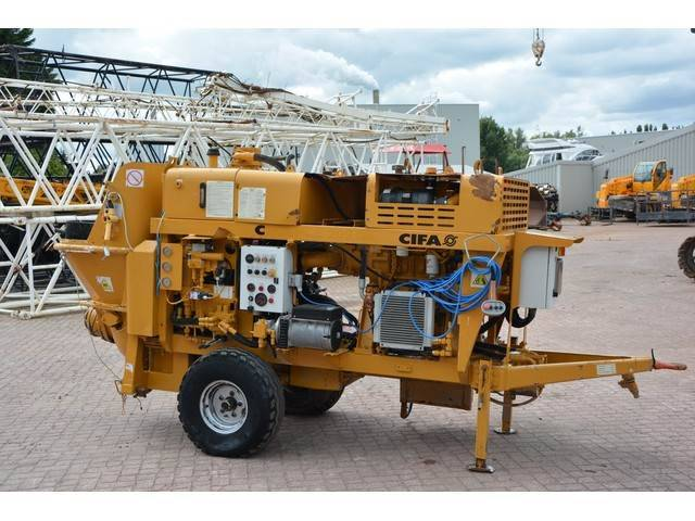 Cifa Pcs 209 D6 Concrete Pump - 2014