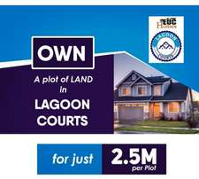 Lagoon Court Estate available for sale in Ibeju Town