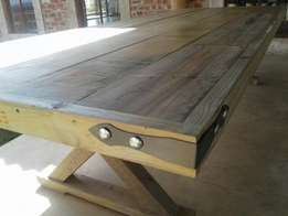 Dining Table weathered look
