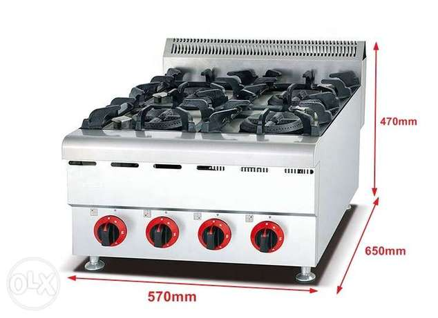 GRACE Gas Stove with 4 Burner Commercial