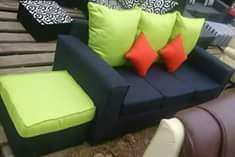Brand new 3 seater plus its foot rest