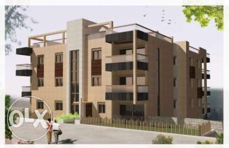 Ballouneh 300m2 + 150m2 terrace - duplex luxurious apartment for sale