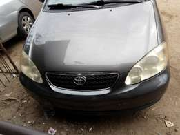 Toyota corolla tokunbo it just like brown new nothing to fics very sha