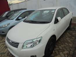 Toyota Axio,year 2009,Finance alloyed and arranged.