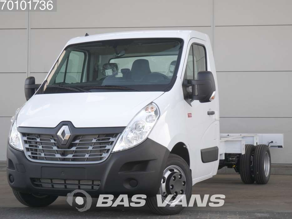 Renault Master chassis cabine 165PK Dubbellucht Navigatie Airco 3... - 2019