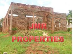Approved 4 bedroom shell house for sale in Gayaza at 50m