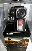 Waterproof Sports Action Camera with 32 piece Accessories pack
