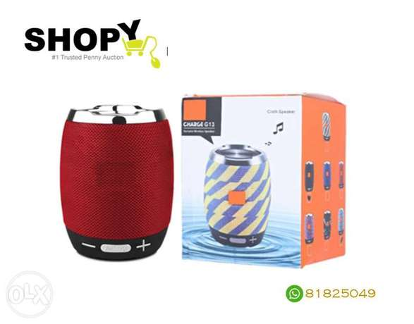 New Portable Audio Speaker High Quality Brand New Bluetooth