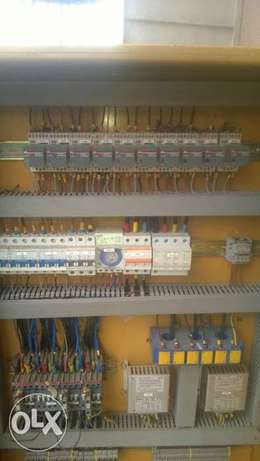 Dual Amf panel with deepsea control module and 45amps contactor. Ikotun - image 2