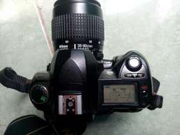 Nikon D70 with accessories