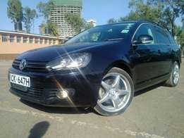 VW Golf Variant 2010 New Shape