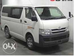 Toyota hiace 7L Matatu diesel auto 2010 box, finance terms accepted