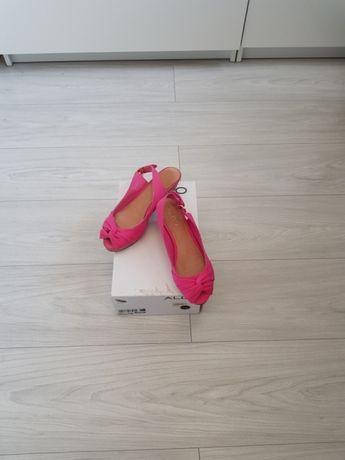 ac3ead1c Różowe buty na koturnie Aldo 37 Wrocław Krzyki • OLX.pl