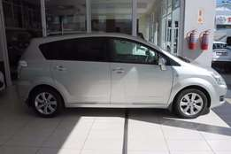 Toyota - Verso 160 (81 kW) SX Face lift (Silver)
