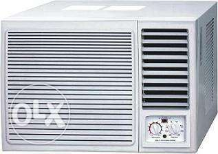 Window AC available with fixing and free delivery