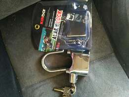 Heavy duty siren alarm padlocks