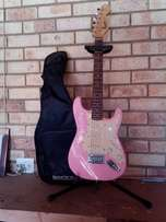 "Junior Squier ""Miss Kitty"" Electric Guitar"