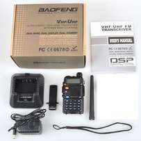 Brand New Professional Two Way Ham Radio Black UV-5R Dual Band