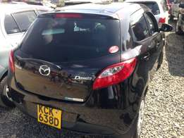 Mazda Demio 2009 model KCK with low genuine milliage buy and drive