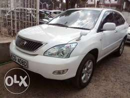 Toyota Harrier new model