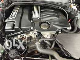 BMW 318i 2005 facelift engine stripped