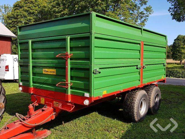 möre t042 / e wagon 9 ton - 97 tractor  for sale by auction