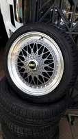 Bbs rims in different colours snd sizes