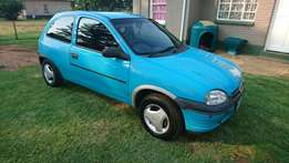 1996 1.3 opel corsa good running condition paper's in order R 33000 ne