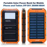 Solar power bank JYF SO1- 38000mAh for All Smarphones