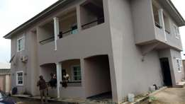 Two Bedroom Apartment for Rent at Obio Offot, off Abak Road.