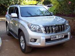 2010 Toyota L/C prado, auto 3.0L turbo diesel, clean condition