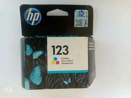 HP deskjet printer cartridge 123