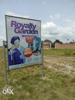 Plots of Land for sale at Royalty Garden Estate (Fenced and Gated)