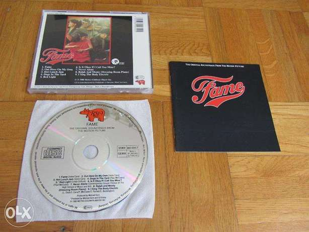 fame original soundtrack cd