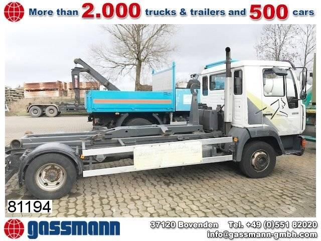 MAN 9.224 llc 4x2 bl city-abroller, 2x ahk - 2000