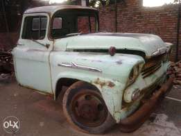 chev viking 1958 truck windscreen wanted.and any spares