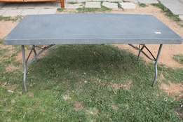 Steel Fold Up Table S018589D