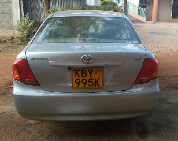 Toyota Axio 2007 KBY 995K (let me know if you spot it) Sagana - image 1