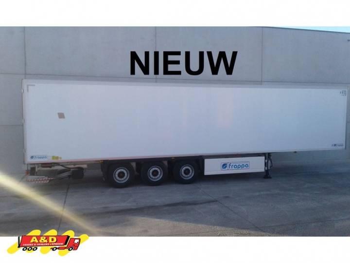 Nieuwe frigo-opleggen bloementransport