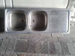 Double Bowl Sink Stainless Steel
